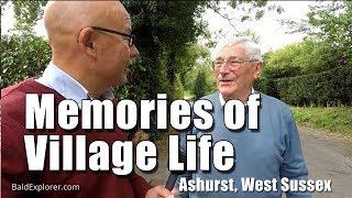 Bald Explorer Meets John Eaton in Ashurst