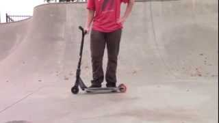 how to double heel whip on a scooter tips
