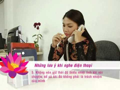 Mẹo  giao tiếp qua điện thoại - [Kỹ Năng -- 18.03.2013]