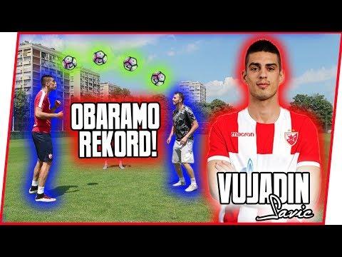 OBARANJE REKORDA w/ VUJADIN SAVIĆ (FK Crvena zvezda)