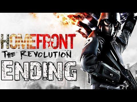 Homefront The Revolution Ending Final Cutscenes