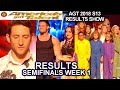 RESULTS Semi-Finals 1 DUNKIN SAVE Voices of Hope Samuel Comroe Duo Transcend America's Got Talent
