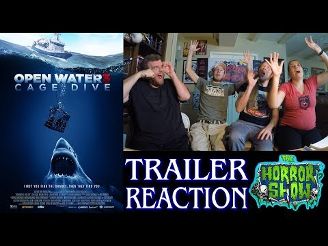"""""""Open Water 3: Cage Dive"""" 2017 Horror Movie Trailer Reaction - The Horror Show"""