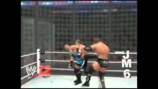WWE 12 |JM6 ᴴᴰ Survivor Series 2002 Elimination Chamber Highlights