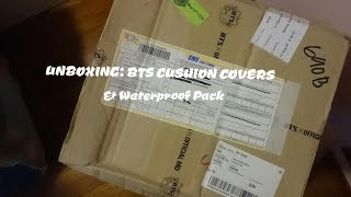 Download Video UNBOXING | BTS CUSHION COVERS & WATERPROOF PACK MP3 3GP MP4