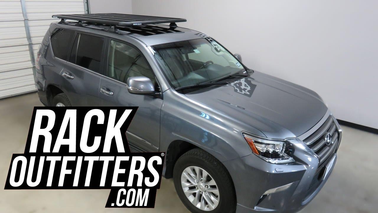 lexus gx with rhino rack pioneer platform roof rack by rack outfitters