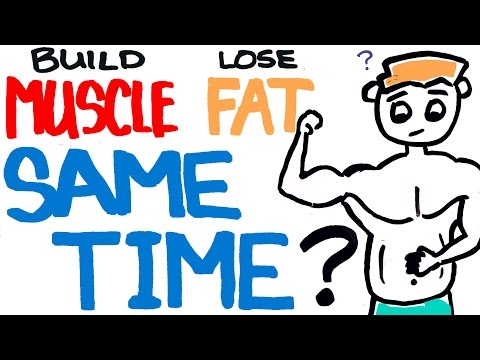 Build Muscle and Lose Fat at the Same Time - Is it Possible?