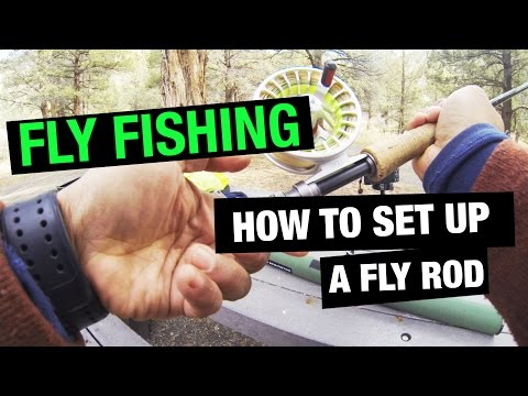 Tibor everglades fly reel review doovi for How to set up a fishing rod