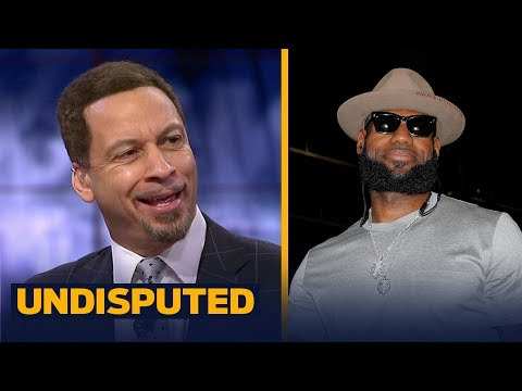 Chris Broussard explains why LeBron James is hyper-focused on triple-doubles | UNDISPUTED