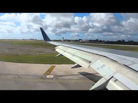 Landing on Saipan Island, Delta Air Lines ( DL298  & DL297 )
