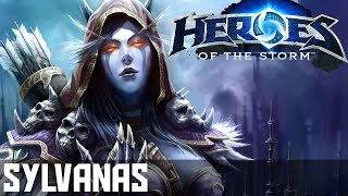 Heroes Of The Storm (Gameplay) - Sylvanas - The Best Pusher! - Gameplay/Guide