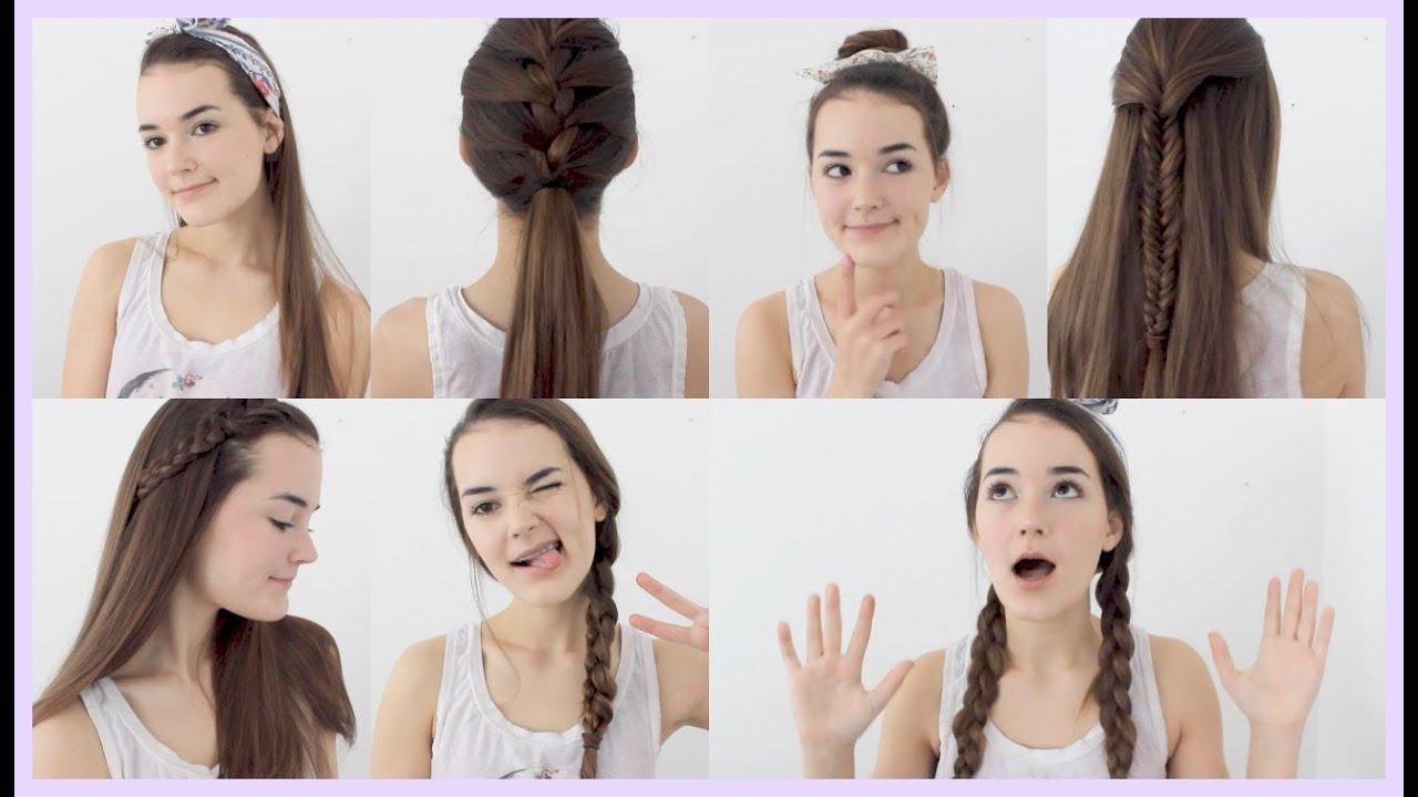 7 Quick Easy Hairstyles Reese Regan Youtube