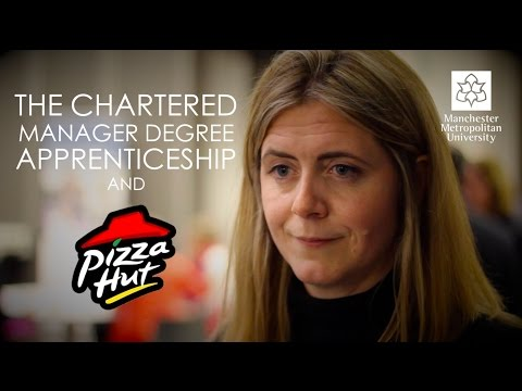 The Chartered Manager Degree Apprenticeship And Pizza Hut