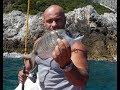 Light Trolling for White Seabream! Crazy Fishing! Ελαφριά συρτή για... σαργούς!