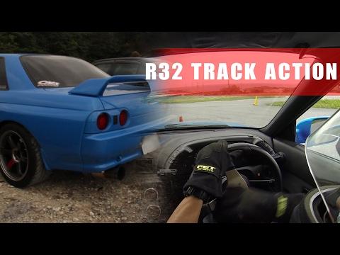 R32 GTR Track Action | Skyline at Autocross