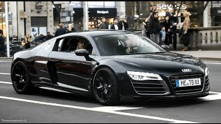 Audi R8 V10 w/ Custom Exhaust - Lovely Exhaust SOUNDS!