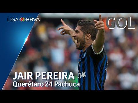 Gol de J. Pereira | Querétaro 2 - 1 Pachuca | Liga BBVA MX - Apertura 2019  - Jornada 4