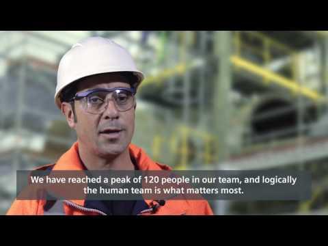 """El mantenimiento de la Central Solar Termoeléctrica de """"La Dehesa"""" por Siemens"""