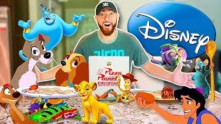 I Only Ate DISNEY Foods For 24 Hours!