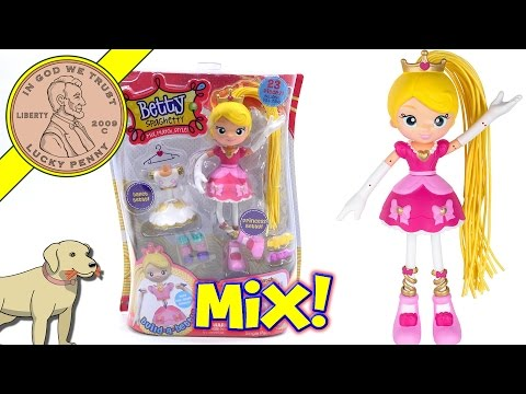 Betty Spaghetty Doll - Princess Betty To Ballet Betty - Mix & Match Styles