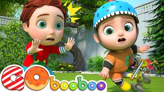 Play Safety in the Garden   Good Habits for Kids   Nursery Rhymes & Kids Songs   GoBooBoo