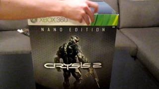 Unboxing Crysis 2 - Nano Edition
