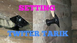 CARA MUDAH PASANG dan SETTING TWITER TARIK thumbnail