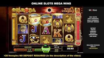 Gold of Ra x114 2,5$ Bet 285,90$ Big Win Online Slots GameArt BitStarz Online Casino