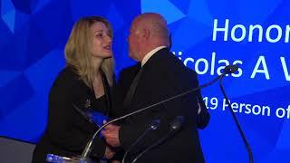 Η Hellenic-American Chamber of commerce (HACC) τιμά τον Νικόλα Βερνίκο