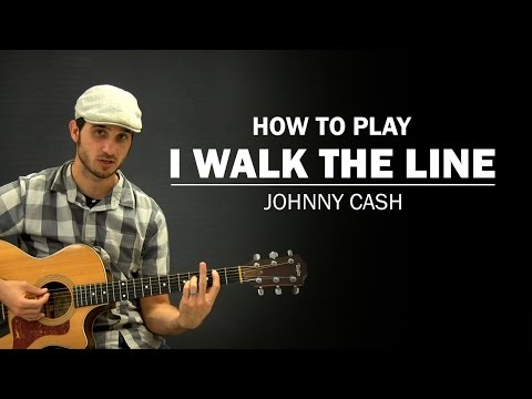 I Walk The Line (Johnny Cash) | How To Play | Beginner Guitar Lesson