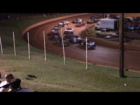 Winder Barrow Speedway Stock Four Cylinders B's Feature Race  8/25/18