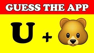 App quiz | Guess App from emoji | App games , emoji challenge