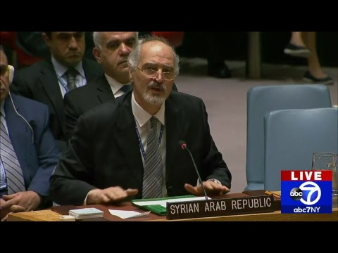 UN Security Council holds emergency meeting following U.S., allied airstrikes in Syria