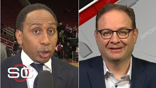 Woj gives Stephen A. an update on the New York Knicks drama | SportsCenter with Stephen A. Smith