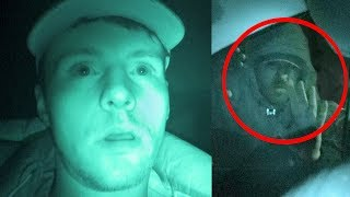 Someone tried to break into my car when I was sleeping in it (24 hour challenge)