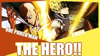 THE HERO One Punch Man OP Cover