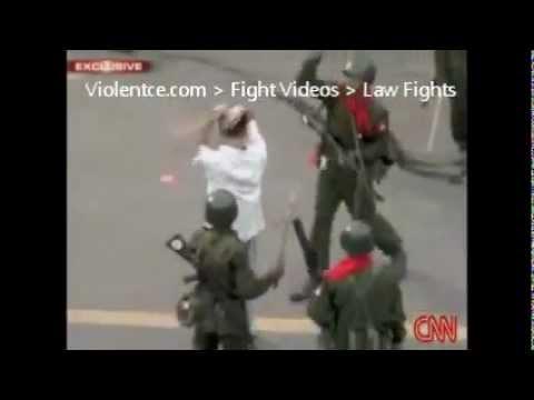 Burma Police Vs Prisoners - Violentce.com
