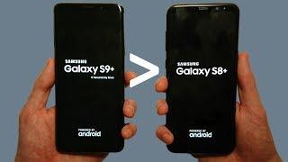 Samsung Galaxy S9+ DESTROYS S8+ in Performance!