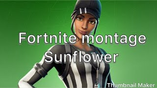 Fortnite Montage - Post Malone, Swee lee - Sunflower thumbnail
