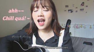 Bài Này Chill Phết - Đen Vâu ft Min (Bản Lời Không Rap) | Hannah Hoang cover