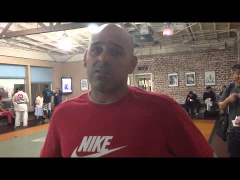 BJJ Legend talks Gracie Barra Burbank | Alberto Crane