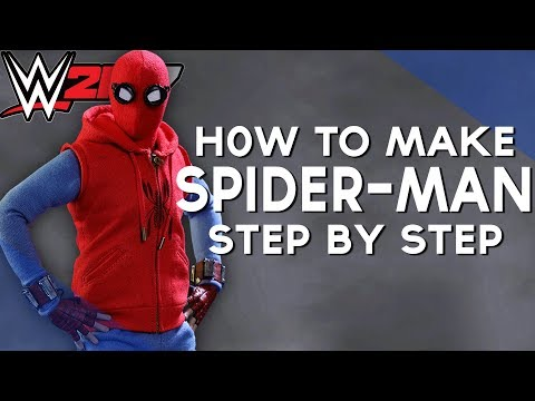 WWE 2K17 | HOW TO MAKE - HOMEMADE SPIDER-MAN SUIT