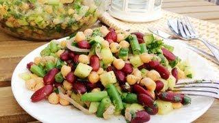 Mediterranean Chickpea Salad - Getfitwithleyla