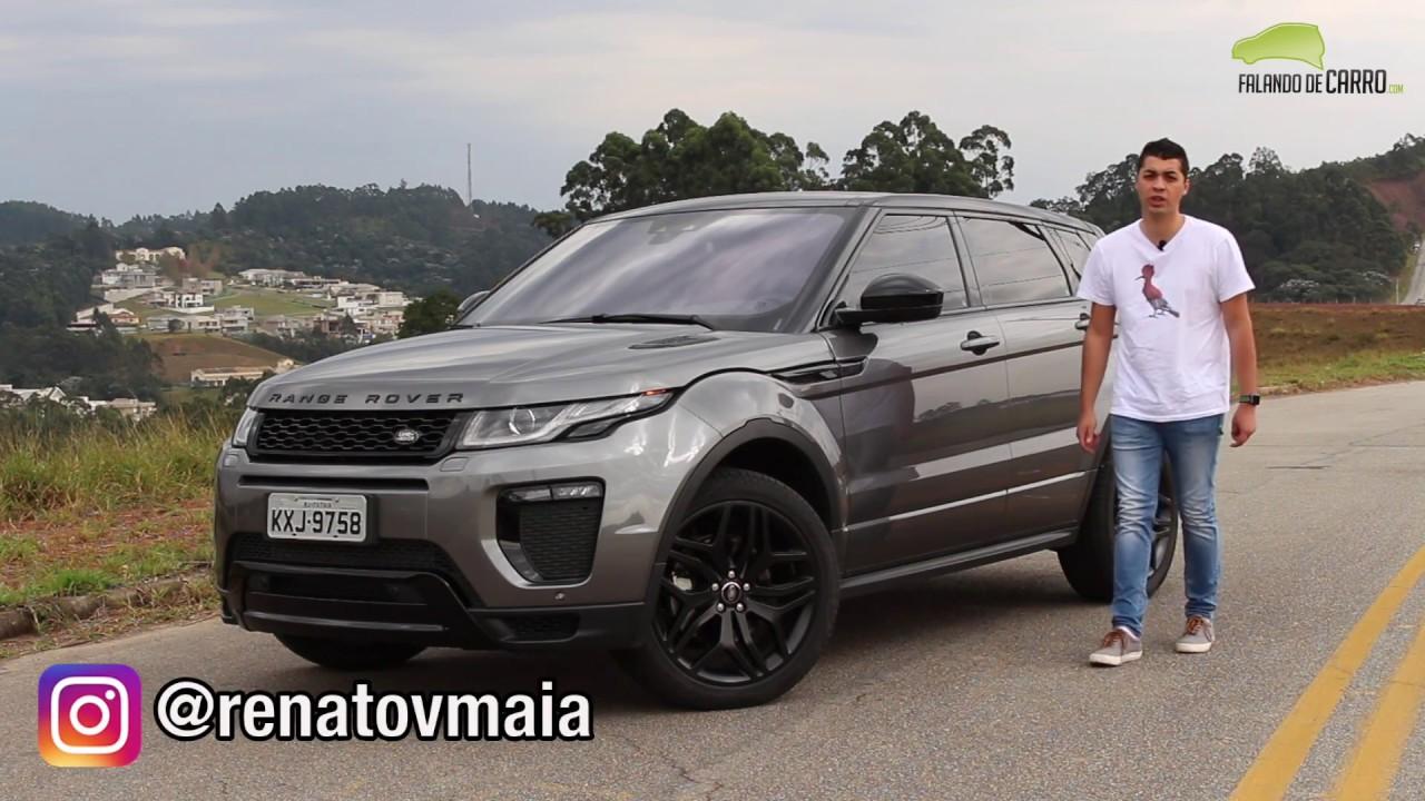 477b3001e0970 Land Rover Evoque Dynamic 2017 - Avaliação - Falando de Carro - YouTube