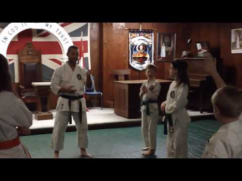 Introduction to Bunkai With Kids