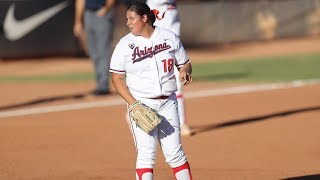 Recap: Arizona softball sweeps Utah behind Taylor McQuillin's 13th complete game