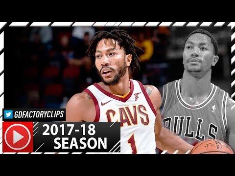 Derrick Rose Full PS Highlights vs Bulls (2017.10.10) - 13 Pts, 5 Reb, 5 Ast