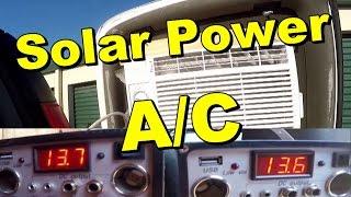 90 Watt Solar Panel Runs 800 Watt A/C