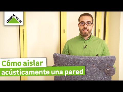 Cómo aislar acústicamente una pared - LEROY MERLIN