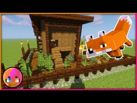 Minecraft 1.14: Fox Pen Tutorial
